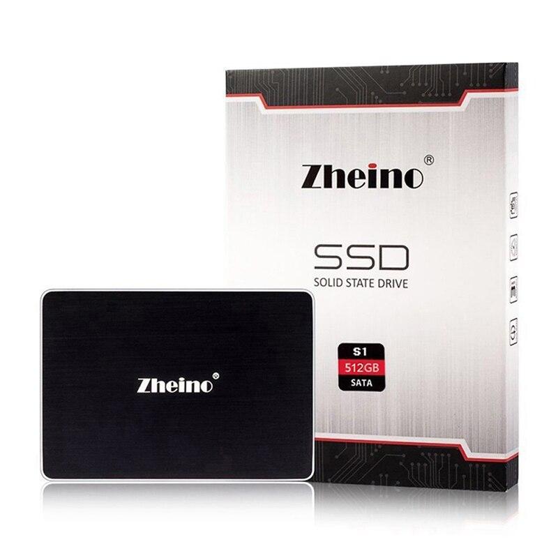 Zheino SATAIII SSD S1 512 gb Lecteur à État Solide 2.5 ''6 gb/s SATA3 interne disque dur Disque Pour ordinateur De Bureau ordinateur portable