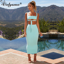 Colysmo Double Layer Sexy Two Piece Set Women Outfits Crop Top And Skirt Autumn 2 Winter Sets Clothes