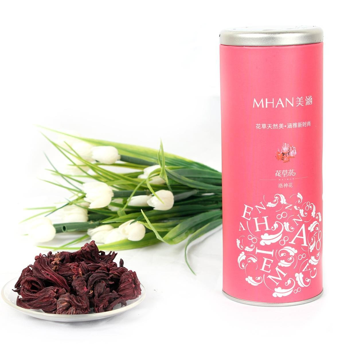 Chinese flower tea - Aliexpress Com Buy Special Hibiscus Flower Tea Luoshehua Chinese Flower Tea Herbal Tea High Quality Beautiful Package Free Shipping Anti Aging From