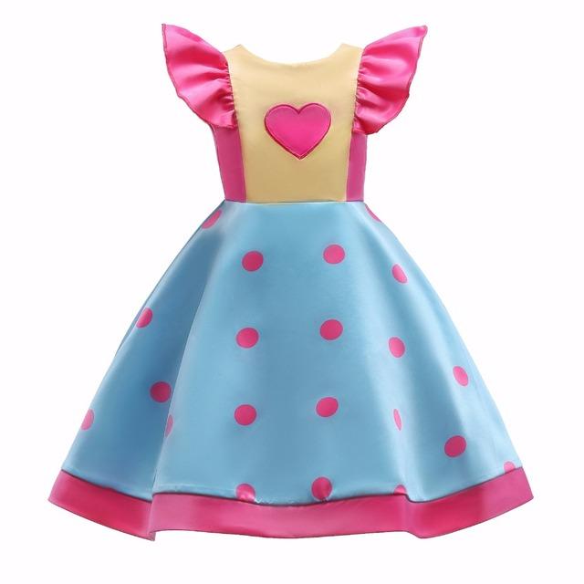 Bébé Fille Robe Princesse Robe Broderie Fleurs Eveving robe De Mariage De Partie pour les filles Bowknot impression enfant deguisement