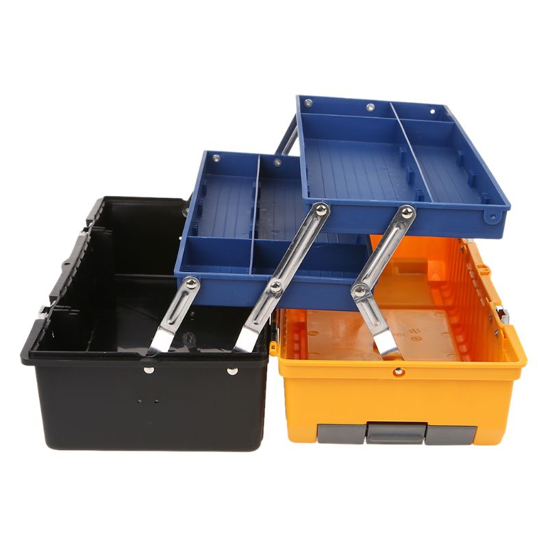 17 Large Plastic Tool Box 3 Layer Storage Hardware Toolbox Home Multifunction Car Repair Container Case17 Large Plastic Tool Box 3 Layer Storage Hardware Toolbox Home Multifunction Car Repair Container Case