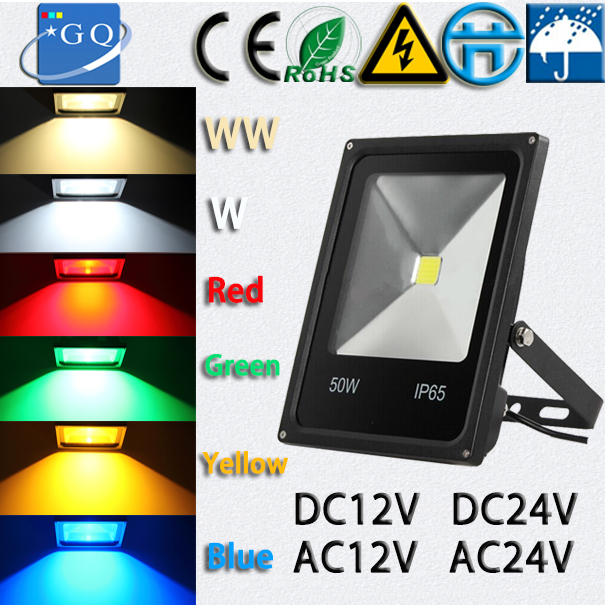 10W 20w 30w 50w 70W 100W led flood light new type DC12V black shell LED OUTDOOR LAMP FLOODLIGHIT