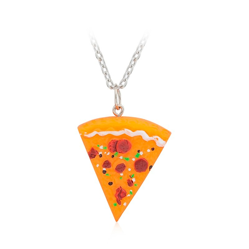 Cool 7 Pizza Set Best Friend Forever Necklace