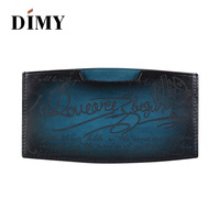 DIMY 2018 NEW Retro Leather Wallet MEN'S Money Clips Cowhide Cards Clutch Wallets Men Business Card Purses Cash Holder For Girls