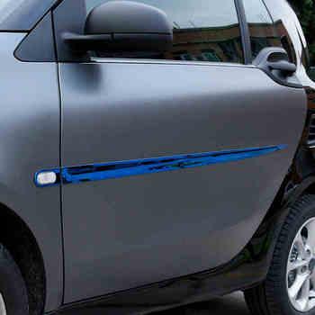 Lsrtw2017 נירוסטה מכונית גוף trims עבור החכם fortwo 2014 2015 2016 2017 2018 2019