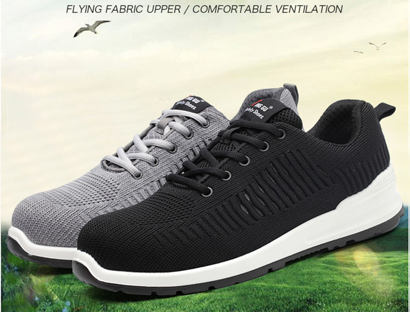 New-exhibition-Flying-mesh-Breathable-Steel-Toe-Cap-Safety-Shoes-Men-anti-pierce-Injection-bottom-work-Safety-boots-2019-Sneaker (10)
