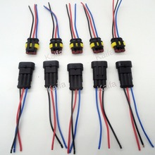 5 Sets 3 Pin Car Waterproof Electrical Connector Plug with font b Wire b font Electrical_220x220 high quality engine wiring harnesses buy cheap engine wiring truck wire harness at alyssarenee.co
