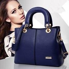 Leather handbags 2016 spring and summer fashion tide big bag ladies geniune leather handbags hand shoulder bag Messenger bag