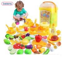 Fantasiespel voedsel game kit kat koekenpan speelgoed voor kinderen voor meisje keuken groente snijden educatief speelgoed squishy potten