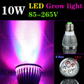 E27 GU10 3Red:2Blue 10W LED Grow Light Indoor Hydroponics Plant Grow Light Superior Yield Higher Quality Flowers