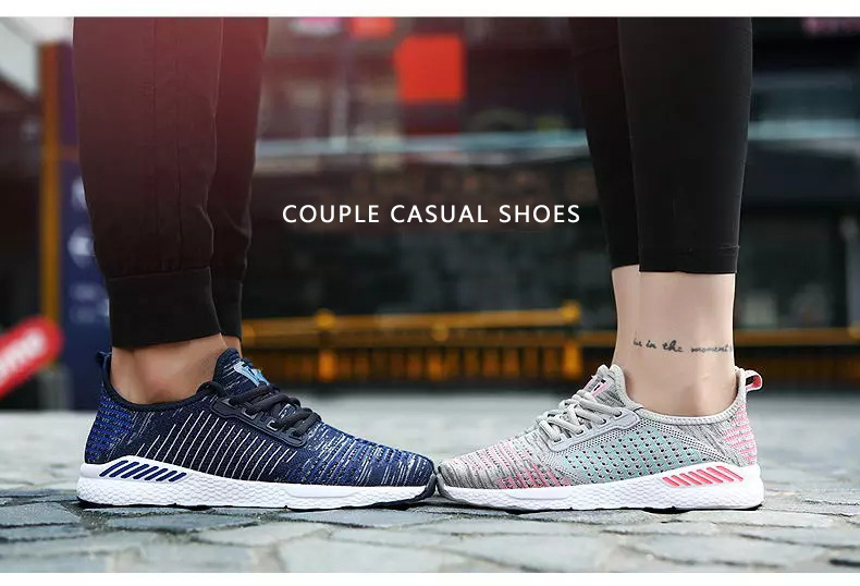 New Men Shoes Lac-up Men Casual Shoes Lightweight Comfortable Breathable Couple Walking Sneakers Feminino Zapatos