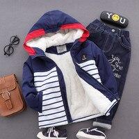 Baby Boy Winter Hoodie Jacket Autumn New Brand Kids Outerwear Coats Boys Clothes Children Windbreaker Thicken
