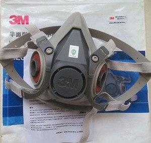 Image 5 - 11 ב 1 3M 6200 7502 ריסוס Respirator גז מסכת עם 3M 2097 גז מסכת תעשיית מסנן עבודה בטיחות אבק מסכה