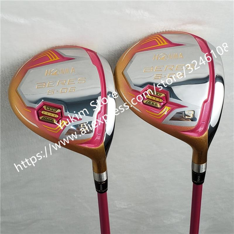 Nuove Donne Golf club HONMA S 06 4 Star di colore Dell'oro driver di Golf 11.5 loft Grafite L flex Club di Trasporto trasporto libero - 2