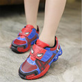Children Shoes Autumn Winter Spiderman Fashion Sports Sneakers For Kids Boy Sport Brand Children's Shoes Boys Girls