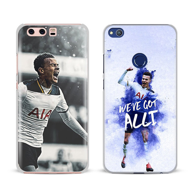 official photos 8531a a3a83 US $2.8  Dele Alli 20 Logo Coque Phone Case Cover Shell For Huawei P8 9 10  Lite 2017 Honor 6x 8 V8 V9 Mate 7 8 9 10 Pro Nova Plus 2-in Half-wrapped ...
