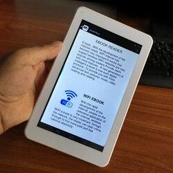 Умная Электронная книга с HD разрешением, сенсорным экраном, Wi-Fi, цифровое устройство для чтения, Цифровое видео, MP3-плееры, многофункциональн...