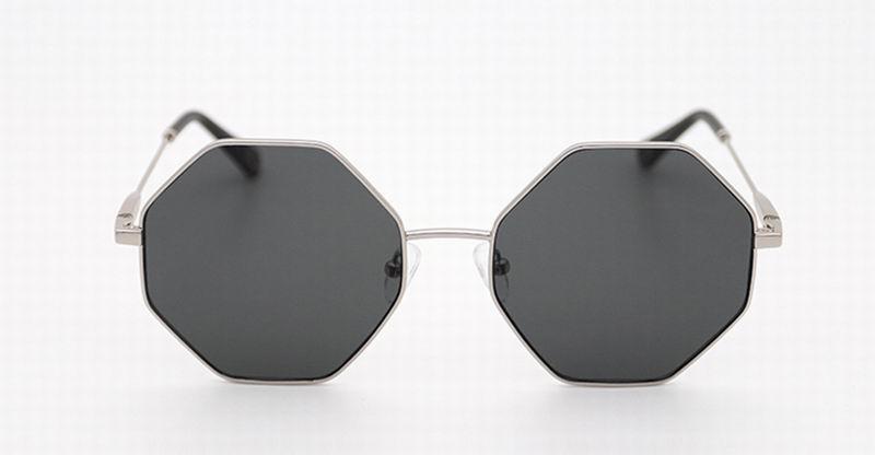 Поляризованные очки hipster мужские солнцезащитные очки Новинка 2017 прилив личности drive Круглые Солнцезащитные очки ABK1-13