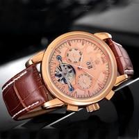 Montre Homme Men Watches Automatic Mechanical Watch Top Luxury Brand ORKINA Watches Luxury Tourbillon Watches Erkek Kol Saati