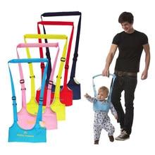 Seguro guardián de arnés de bebé Sling chico Girsls arnés para aprender a caminar cuidado infantil ayuda a Asistente de cinturón