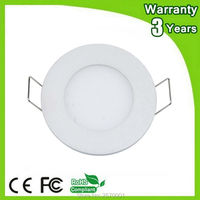 3 Years Warranty Epistar Chip 6W LED Downlight Circular LED Panel Lights Ceiling Down Lighting COB Spotlight Bulb