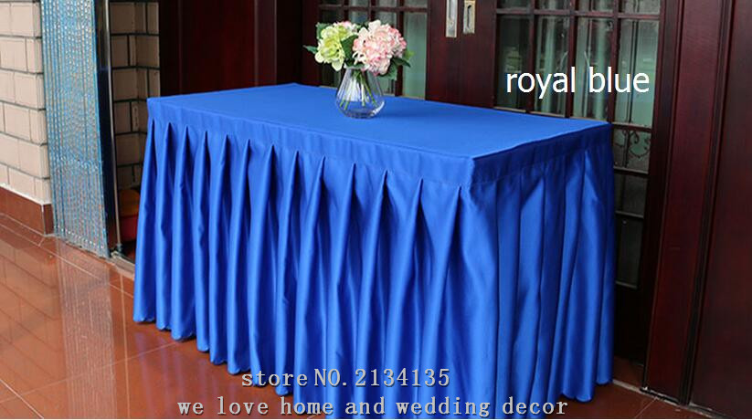 Customized wedding banquet hotel tablecloths meeting sign in a customized wedding banquet hotel tablecloths meeting sign in a buffet table skirt cover thickening satin table skirt sets in tablecloths from home garden watchthetrailerfo