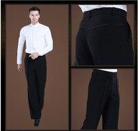 2019 new Latin Dance Trousers Pants Men/Boy Practice/Performance Pants For Dance Modern Dance Pants Mens Ballroom Dance Pants