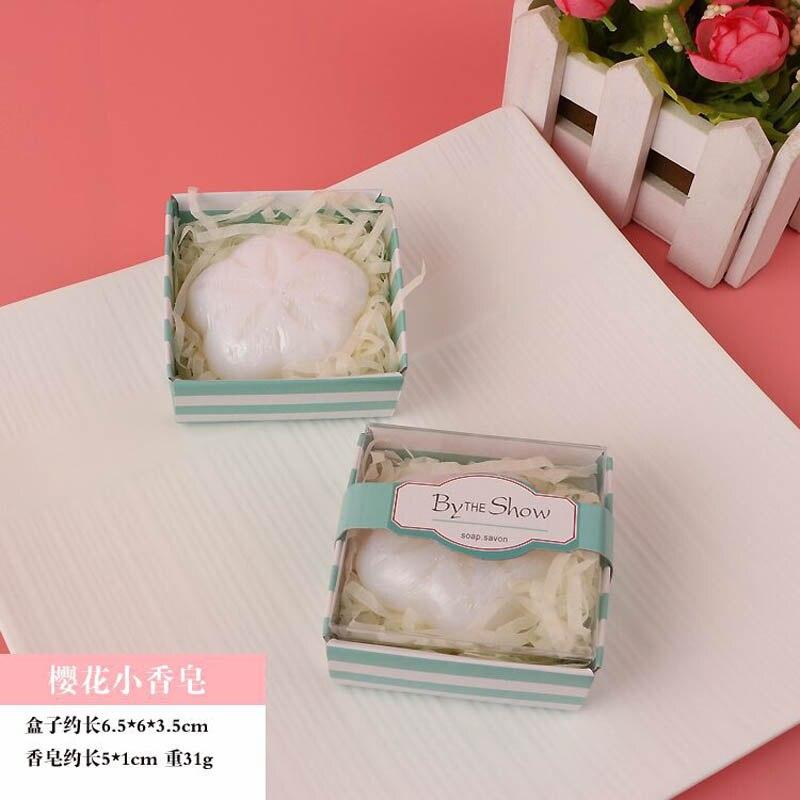 20 шт./лот мини-мыло ручной работы с ароматом для сувенир для свадебной вечеринки и детского душа подарок Свадебные сувениры Мыло для купания - Цвет: ying hua