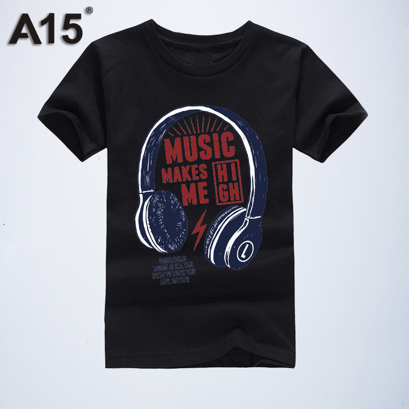 A15 Design Girls Clothing Tops Kids T Shirts Short Sleeve Summer Girls T Shirt 2019 Cotton T-Shirts for Boys 6 8 10 12 14 Year(China)