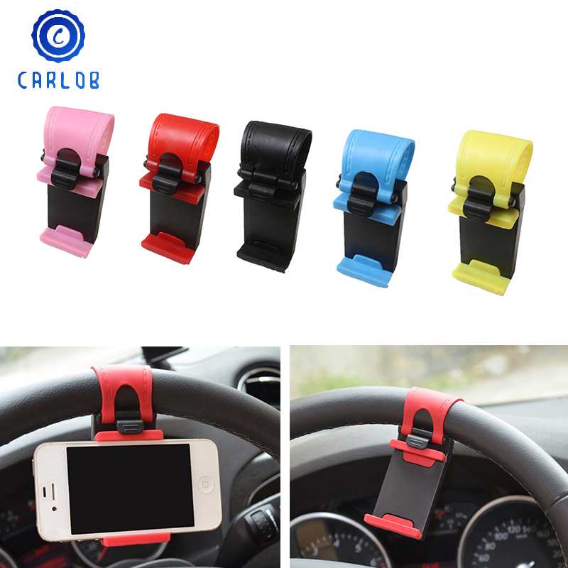 Vw Volkswagen Universal Holder Mobile Phone Adapter: CARLOB Car Styling Universal Steering Wheel Mobile Phone