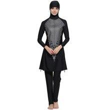 muslim swimsuit plus size hijab women's swimwear islamic muslimah swimsuit hooded bathing suit modest swimwear islamic clothing