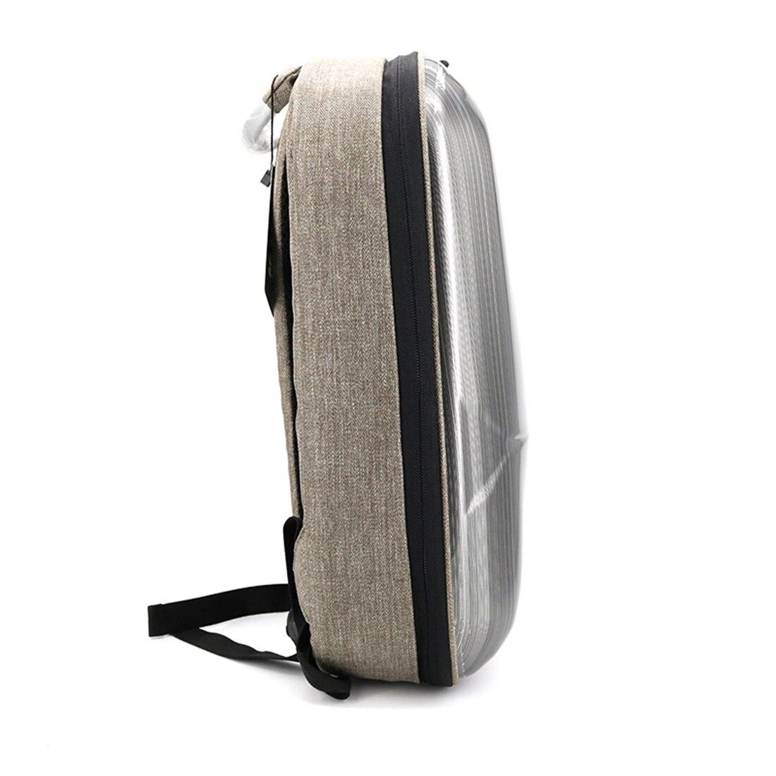 HOBBYINRC Waterproof HardShell Backpack Case Bag Sticker Battery Charger Storage Bag for DJI Mavic Pro Accessories White