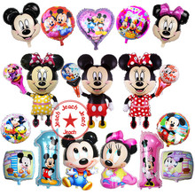 party supplies minnie balloon mickey balloon wedding event balon inflatable birthday party decoration supplies mickey balloons nice colorful oxford inflatable led balloon for event party club stage birthday holiday christmas banquet decoration