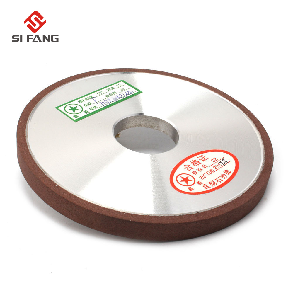 125mm Resin Bond falt shape Diamond Flat Disc Grinding Wheel Grinder thickness 6/8/10mm Plain Type 150Grit 75% туфли ecco shape 75 pointy