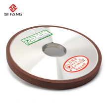 125mm  Resin Bond falt shape Diamond  Flat Disc Grinding Wheel Grinder thickness 6/8/10mm Plain Type 150Grit 75% 75% 400 grit resin bond bowl shape diamond grinder grinding wheel tool