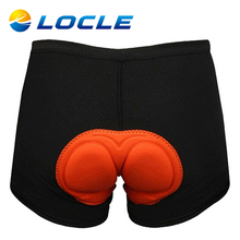 LOCLE Top Quality Cycling Underwear 3D GEL Padded Men s Bicycle Bib Shorts Comfortable Body Building