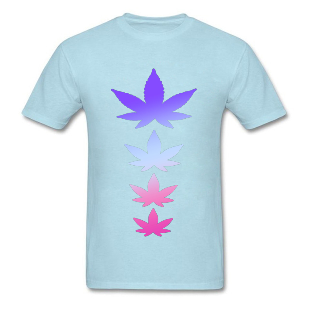 Male T-Shirt Normal Custom Tops Shirt Cotton Crewneck Short Sleeve Crazy Tshirts Summer/Autumn Wholesale Cannabis Weed Stoner Stoned Bestseller 16587 light