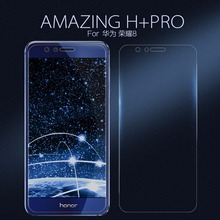 Huawei Honor 8 Tempered Glass Screen Protector NILLKIN Amazing H+PRO Nanometer Anti-Explosion 2.5D 0.2mm Tempered Glass Film