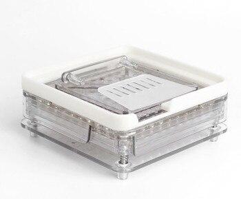 Máquina de enchimento da cápsula, 100 cavidade de enchimento da cápsula manual com calcamento ferramenta, pode ser personalizado para 0 # tamanho