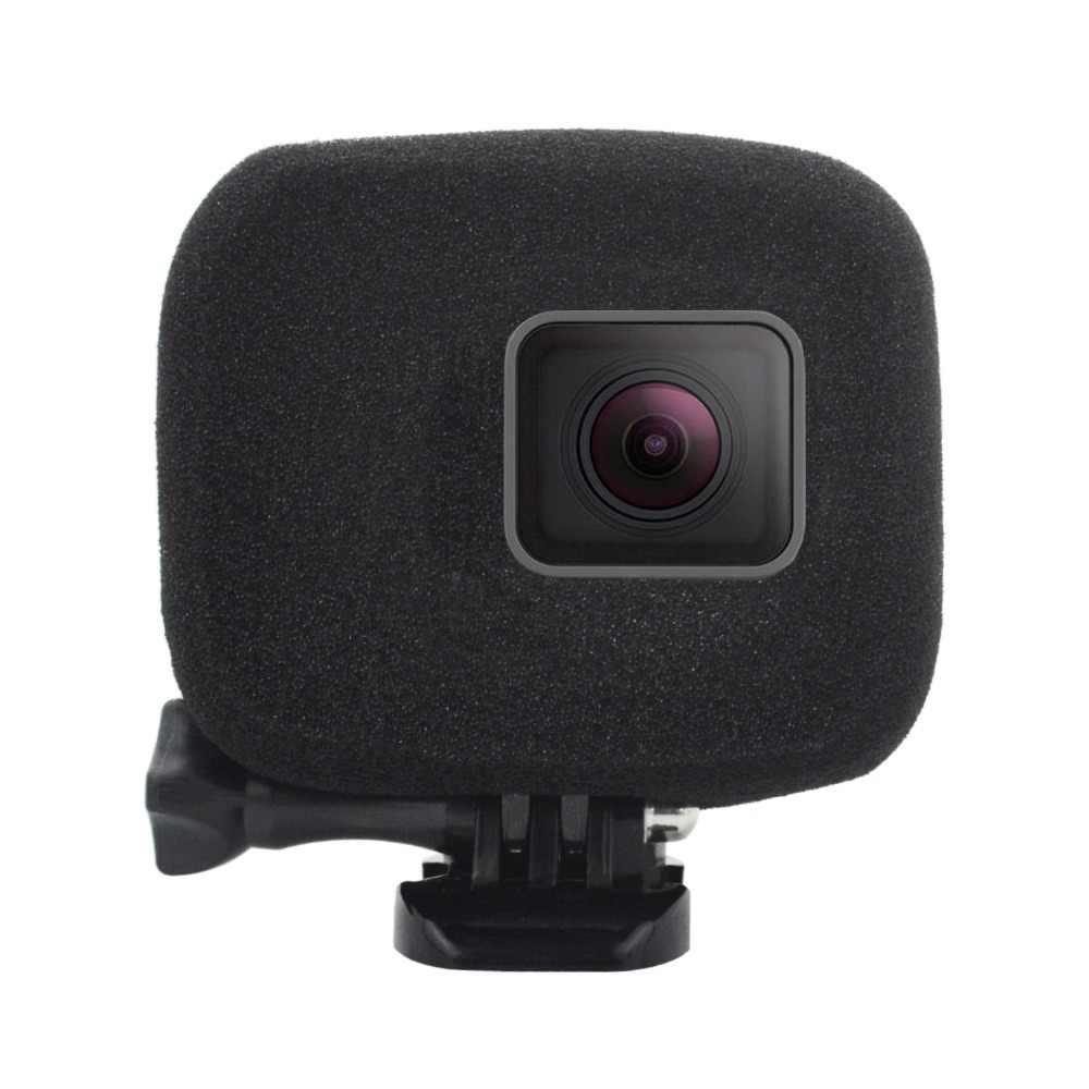 Лобовое стекло Ветер шумоподавление губка пена чехол Крышка для корпуса для GoPro Hero 5 6 7 аксессуары для спортивной экшн-камеры F3550