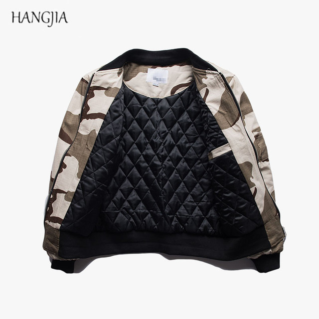 28fe27a95aec7 Mens Camouflage Cotton Military Bomber Jackets MA1 Thin Section Europe the United  States Desert Air Force Pilot Baseball Jacket