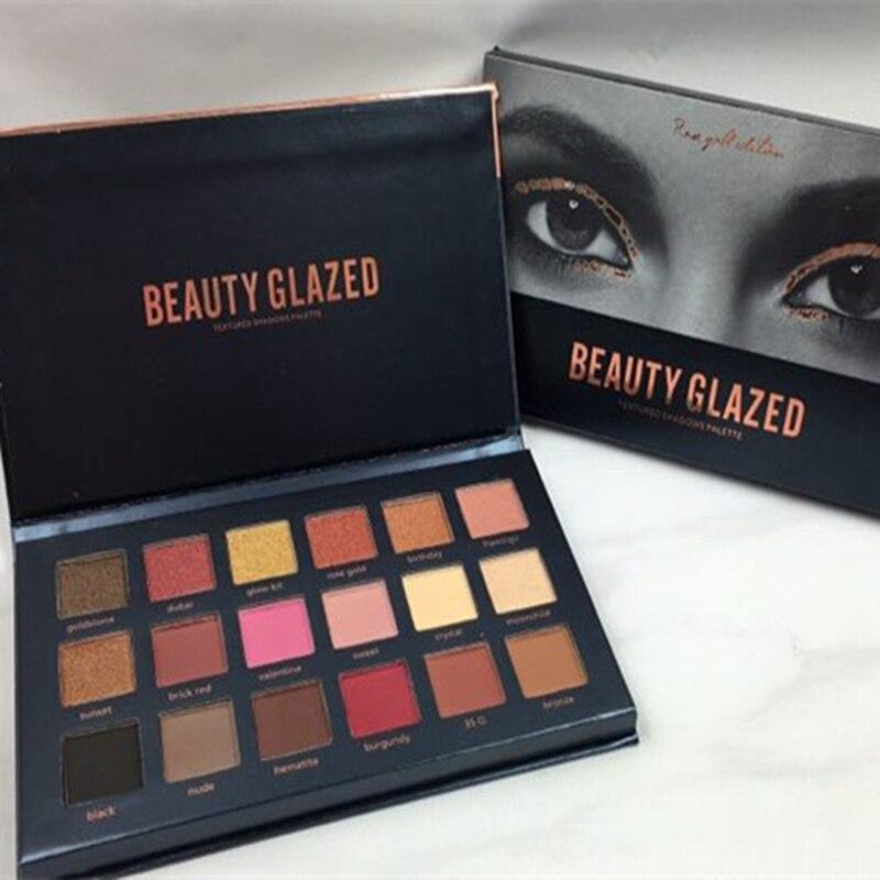 Beauty Glazed Shimmer Matte Eyeshadow Makeup Palette (12)