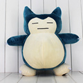 New Arrival 40cm pikachu Snorlax Plush Toys Soft Stuffed Snorlax Animal Toys Dolls Birthday Gifts For Kids