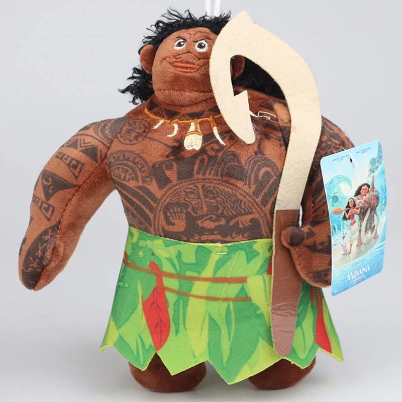 2017 Ocean Romance Moana Princess  Maui Heihei Pua Plush Stuffed Soft Toys Cartoon Moana Adventure Dolls Toys For Christma Gifts