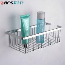 KES A4023 прямоугольная Ванна и душевая корзина настенное крепление, алюминий