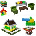 High Quality 100PCS Fight Inserted Particles Children's Educational Building Blocks Plastic Toy Kids Toy