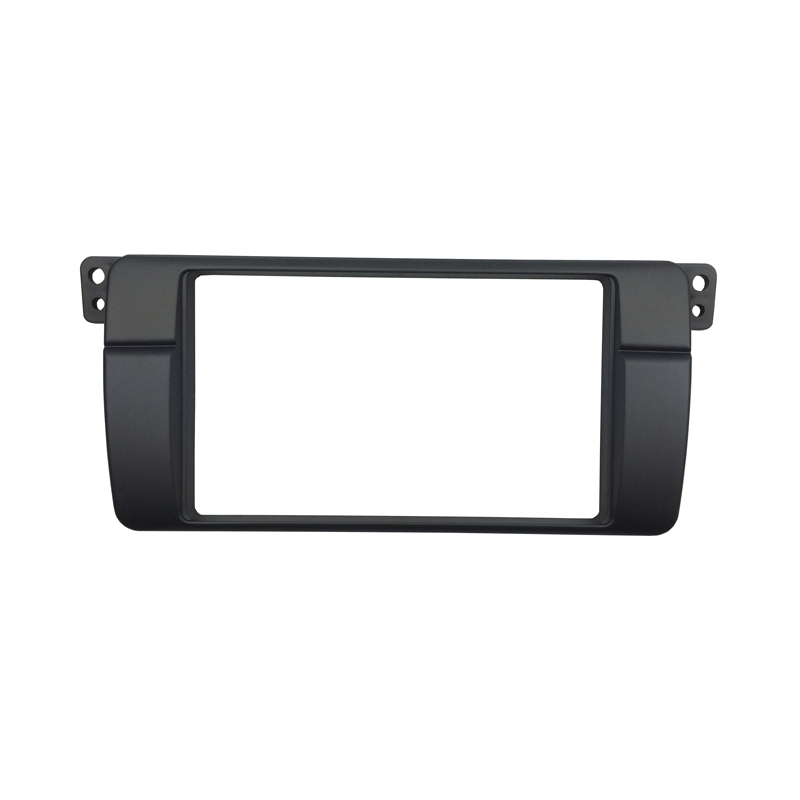 Image 2 - 180*105mm Opening for BMW 3 Series E46 Double Din Fascia Radio DVD Stereo Panel Trim Kit Refitting Installation Frame-in Fascias from Automobiles & Motorcycles