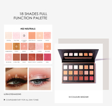 купить Focallure 18 colors Eyeshadow Palette Long lasting Natural Matte Eye shadow Fashion Eye Makeup  по цене 694.95 рублей