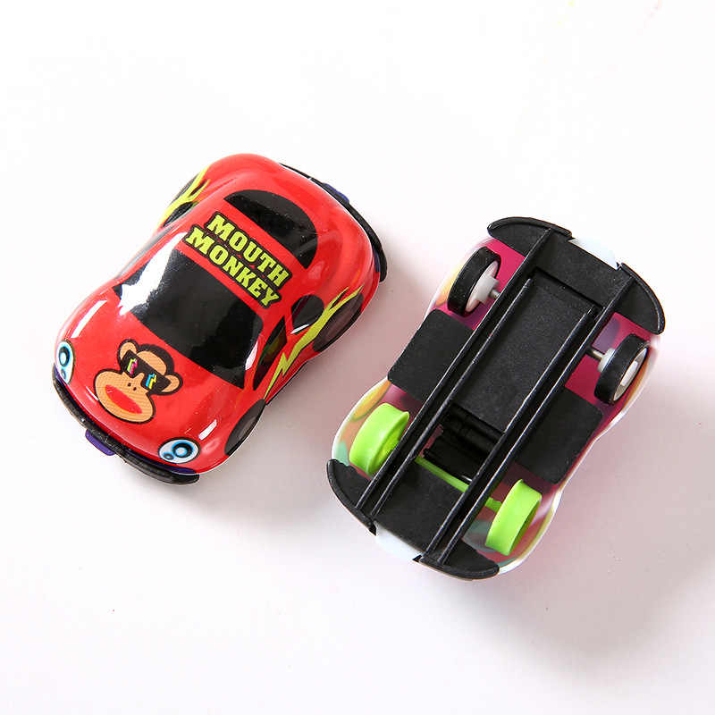 Tarik Kembali Mobil Mainan Mobil Anak-anak Balap Mobil Bayi Mini Mobil Kartun Menarik Kembali Bus Truk Mainan Anak-anak untuk Anak-anak anak Hadiah Mainan-004