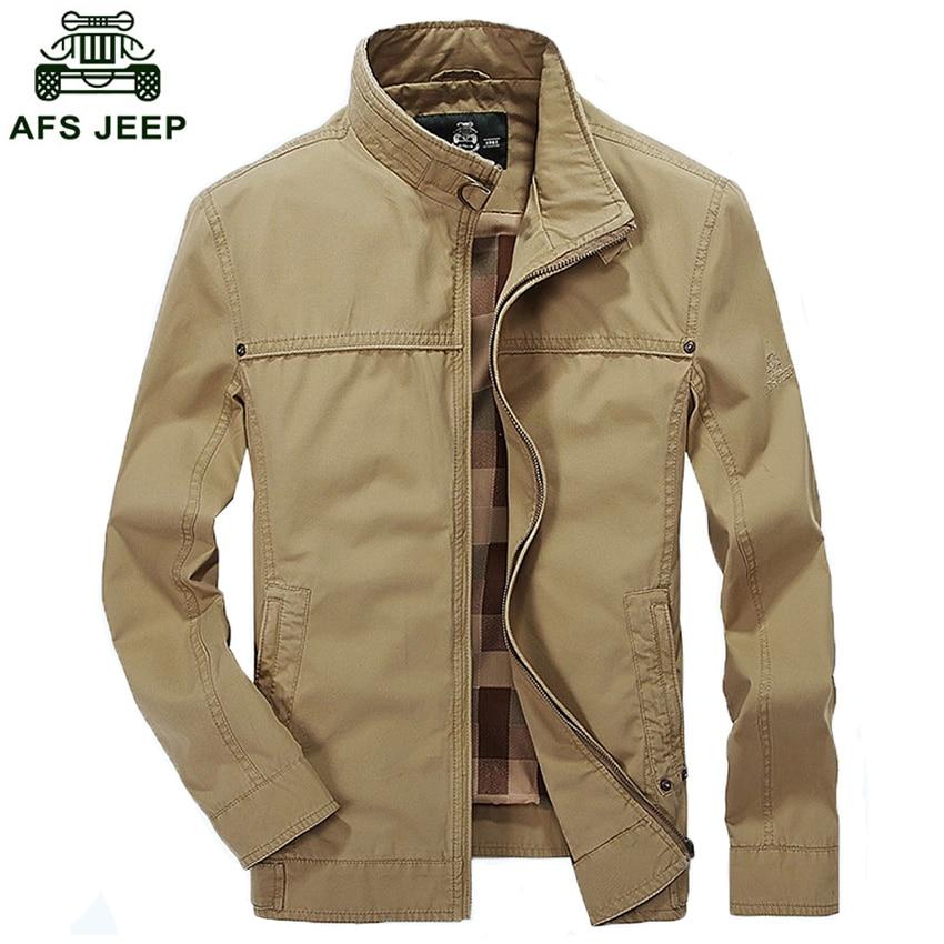 AFS JEEP marque veste pour hommes manteau vestes de mode Casual Veste hommes  vêtements qualité 168 dans Vestes de Mode Homme et Accessoires sur ... a5d96e1517f9